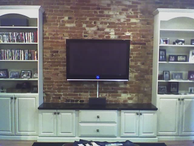 How To Mount A Tv On A Brick Fireplace Fireplace Ideas Gallery Blog